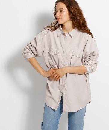 Tenderコールビッグシャツ