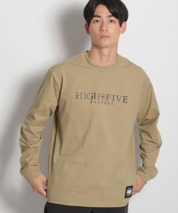 【HIGH FIVE FACTORY】Logo Dry L/S T Shirts