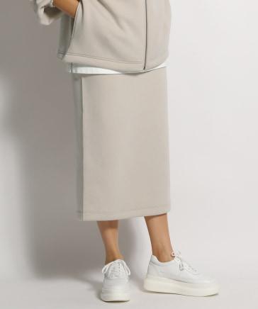 ダンボールニットIラインスカート