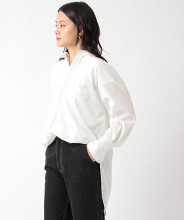 【石川能登再生ポリエステル】オーバーサイズシャツ
