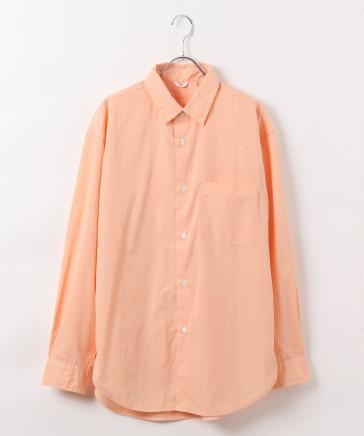 【BCI認証コットン】岡山染めOVERDYEレギュラーカラーシャツ (ユニセックス)