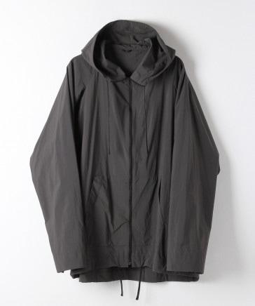 【石川県小松マテーレ社天然成分染色】フーディージップジャケット
