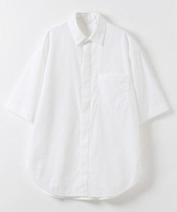 レギュラーカラーシャツ半袖 (ユニセックス)