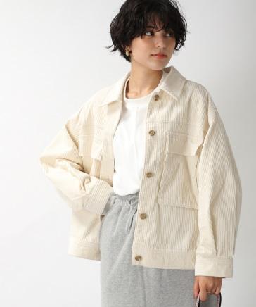 【WOMENS】コーデュロイワークジャケット