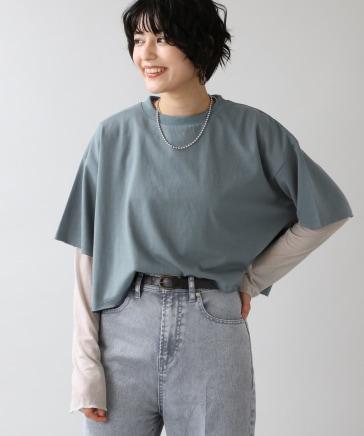 【WOMENS】シアーセットプルオーバー