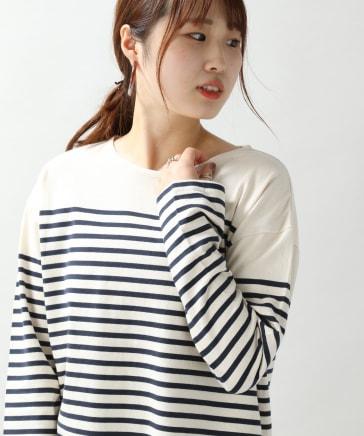 【WOMENS】BIGボーダーTシャツ