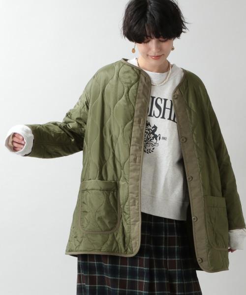 【WOMENS】キルティングライナージャケット