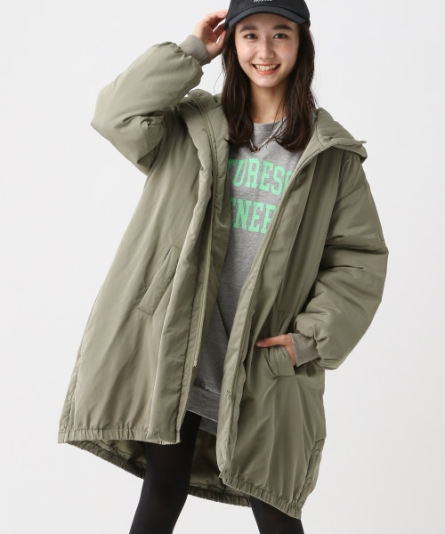 ☆WEB先行予約☆ルーズナカワタモッズコート