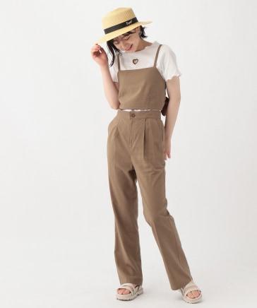 ☆セットアイテム☆バックリボンビスチェセットアップ