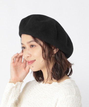 【WEB限定】ビッグベレー帽