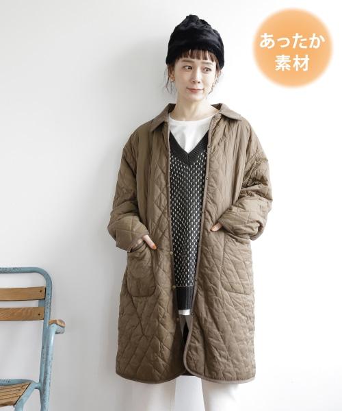 【先行予約】襟取り外しキルトコート