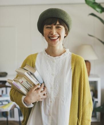 【キナリノ掲載商品】フロントピンタックレースブラウス