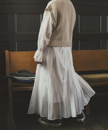 《高山都さんコラボ》アンティーク風スカート