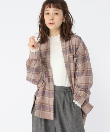BIGポケットシャツブルゾン