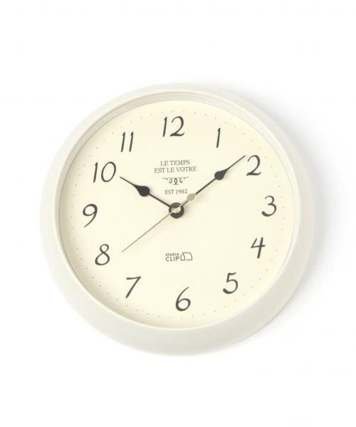 (studio CLIP/スタディオクリップ)プラスチック壁掛け時計/ [.st](ドットエスティ)公式
