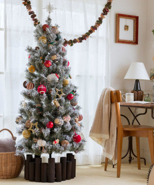 RoomClip商品情報 - (studio CLIP/スタディオクリップ)クリスマススノーツリー 150cm/ [.st](ドットエスティ)公式