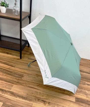 ロゴ刺繍折り畳み傘