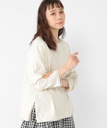ひんやりロールネックロングTシャツ