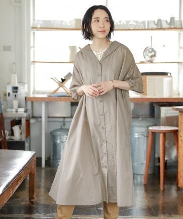 羽織りセーラーワンピース