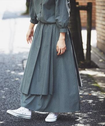 《kazumiさんコラボ》自由着回しスカート